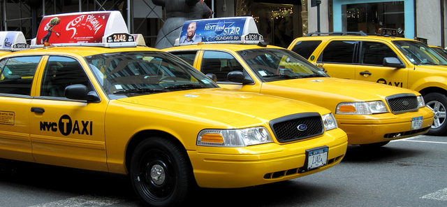 New York City cabs - smelling sweet!